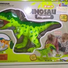 Jucarie dinozaur T-Rex cu proiector - Figurina Dinozauri Altele, Unisex