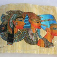 PAPIRUS cu CERTIFICAT de AUTENTICITATE - Arta din Africa