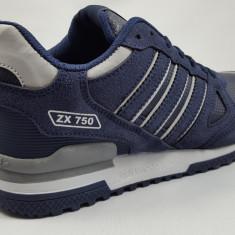 Adidasi Adidas ZX 750 - Adidasi barbati, Marime: 40, 41, 42, 43, 44, Culoare: Bleumarin