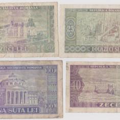 LOT BANCNOTE 1966 - Bancnota romaneasca