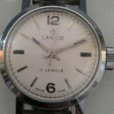 Ceas dama Swiss Legend Lanco Swiss Made, Mecanic-Manual