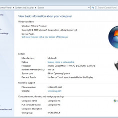 Computer PC Gaming I5 4440, 8 GB, GTX 650, SSD, HDD 2 TB. - Sisteme desktop fara monitor, Intel Core i5, Peste 3000 Mhz, 1-1.9 TB, LGA 1150