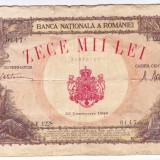 Bancnota 10000 lei 1945 20 decembrie - Bancnota romaneasca