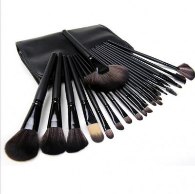 Set 24 Pensule Machiaj Par Natural Megaga Make Up Profesional