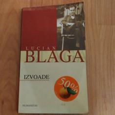 IZVOADE-LUCIAN BLAGA