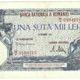 2) Bancnota 100000 lei 20 decembrie 1946 - Bancnota romaneasca
