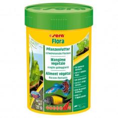 Hrana vegetala pesti Sera Flora 100ml - Hrana peste si reptila
