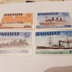 Anglia/colonii/bahamas 1999 upu vapoare / serie MNH - Timbre straine, Nestampilat