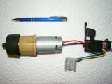 Motor electric f. puternic - cu reductor   12 -14,4  V