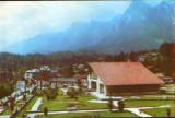 Romania - CP circulata - Busteni - Vedere, Fotografie
