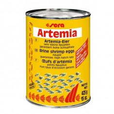 Hrana pentru puiet. Oua de artemia salina Sera Artemia 425 gr - Hrana peste si reptila