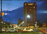 Romania - Intreg p.ilustrat 1975 necirc,marca fixa-Bucuresti-Piata Universitatii, Dupa 1950
