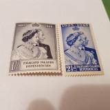 Anglia/colonii/falkland 1948 regele si regina/ serie MH, Nestampilat