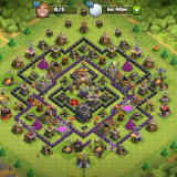 Cont Clash of Clans lvl 95 th9