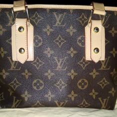 Poseta Louis Vuitton originala - Geanta Dama Louis Vuitton, Culoare: Maro, Marime: Medie