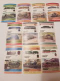 Anglia/colonii/tuvalu 1984-85 locomotive/ MNH/ 17 euro, Nestampilat