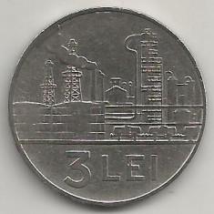ROMANIA RSR 3 LEI 1966 [5] XF+, livrare in cartonas - Moneda Romania, Fier