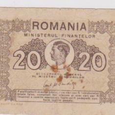 20 LEI1945 BANCNOTE ROMÂNEŞTI - Bancnota romaneasca