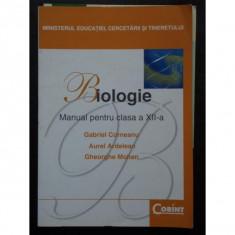 Gabriel Corneanu - BIOLOGIE - Manual pentru clasa a XII-a