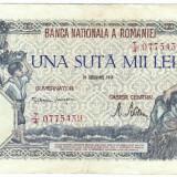 1) Bancnota 100000 lei 20 decembrie 1946 - Bancnota romaneasca