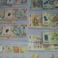 PLIANT bancnote si monede romanesti 2000 - prezent.