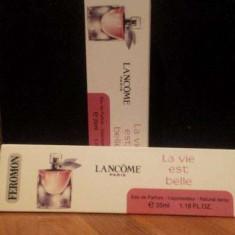 TESTER Fiola Lancome La Vie Est Belle 35 ml - Parfum femeie, Apa de parfum