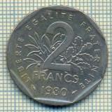 9465 MONEDA- FRANTA - 2 FRANCS -anul 1980 -starea care se vede, Europa
