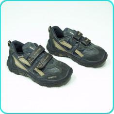 DE FIRMA _ Pantofi sport / adidasi, comozi, aerisiti, GEOX _ baieti | nr. 30 - Pantofi copii Geox, Culoare: Bleumarin, Piele naturala
