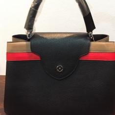 Geanta Louis Vuitton capucines bag - Geanta Dama Louis Vuitton, Culoare: Negru, Marime: Medie