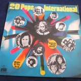 various - 20 Pops International _ vinyl ,LP , compilatie _ Ariola (Germania)
