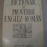 DICTIONAR DE PROVERBE ENGLEZ -ROMAN VIRGIL LEFTER