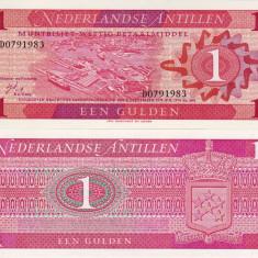 ANTILELE OLANDEZE 1 gulden 1970 UNC!!!