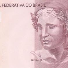 Bancnota Brazilia 10 Reais 2010 - P254 UNC - bancnota america, An: 2013