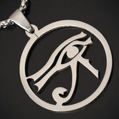 Amuleta, Pandantiv Ochiul Drept al lui RA / Horus INOX - cod PND017