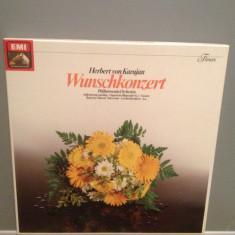 HERBERT von KARAJAN - WISH CONCERT -2LP BOX SET(1971/EMI/RFG) - VINIL/Ca Nou/RAR - Muzica Clasica emi records