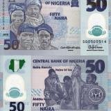 NIGERIA 50 naira 2015 polymer UNC!!!