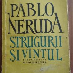 Strugurii si vinul - Pablo Neruda - Carte de calatorie