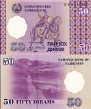 TADJIKISTAN 50 diram 1999 UNC!!!