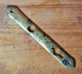 Sild vechi din alama pentru butuc, masca pentru cheie 24.5 cm #470