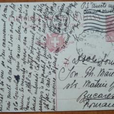 Carte postala Crucea Rosie , 1915