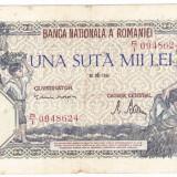 Bancnota 100000 lei 1946 28 mai - Bancnota romaneasca