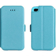 Husa Samsung Galaxy J7 2016 Flip Case Inchidere Magnetica Blue - Husa Telefon Samsung, Albastru, Piele Ecologica, Cu clapeta, Toc