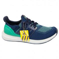 Adidasi Adidas Barbati Boost Blu - Adidasi barbati, Marime: 40, 41, 42, 43, 44, Culoare: Turcoaz, Textil