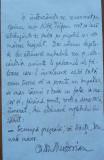 Pagina manuscris de scriitorul Caton Theodorian