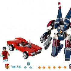 LEGO® Super Heroes Iron Man: Atacul lui Detroit Steel - 76077