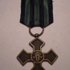 Crucea Comemorativa a Primului Razboi Mondial 1916 1918 - Ordin