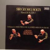 BOLERO-RAVEL/DEBUSSY-LA MER - GEORG SOLTI (1977/DECCA/RFG) - VINIL/Ca Nou