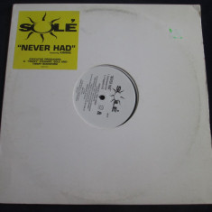 Sole - Never Had _ vinyl, 12'', (Dreamworks) SUA _ hip hop - Muzica Hip Hop Altele, VINIL