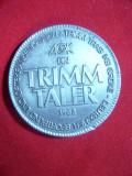 Trimm Taler 1982 ,metal alb Germania, Europa
