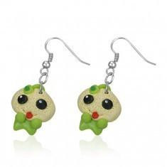 Cercei Fimo - bebeluş verde